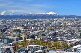 富士山方面の写真